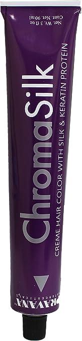 Pravana ChromaSilk Creme Hair Color con seda y proteína de queratina, 8,45 cobre claro caoba rubio