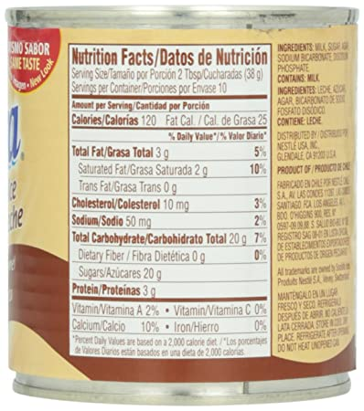 Amazon.com : Nestle Dulce De Leche Caramel, 13.4 oz : Grocery & Gourmet Food
