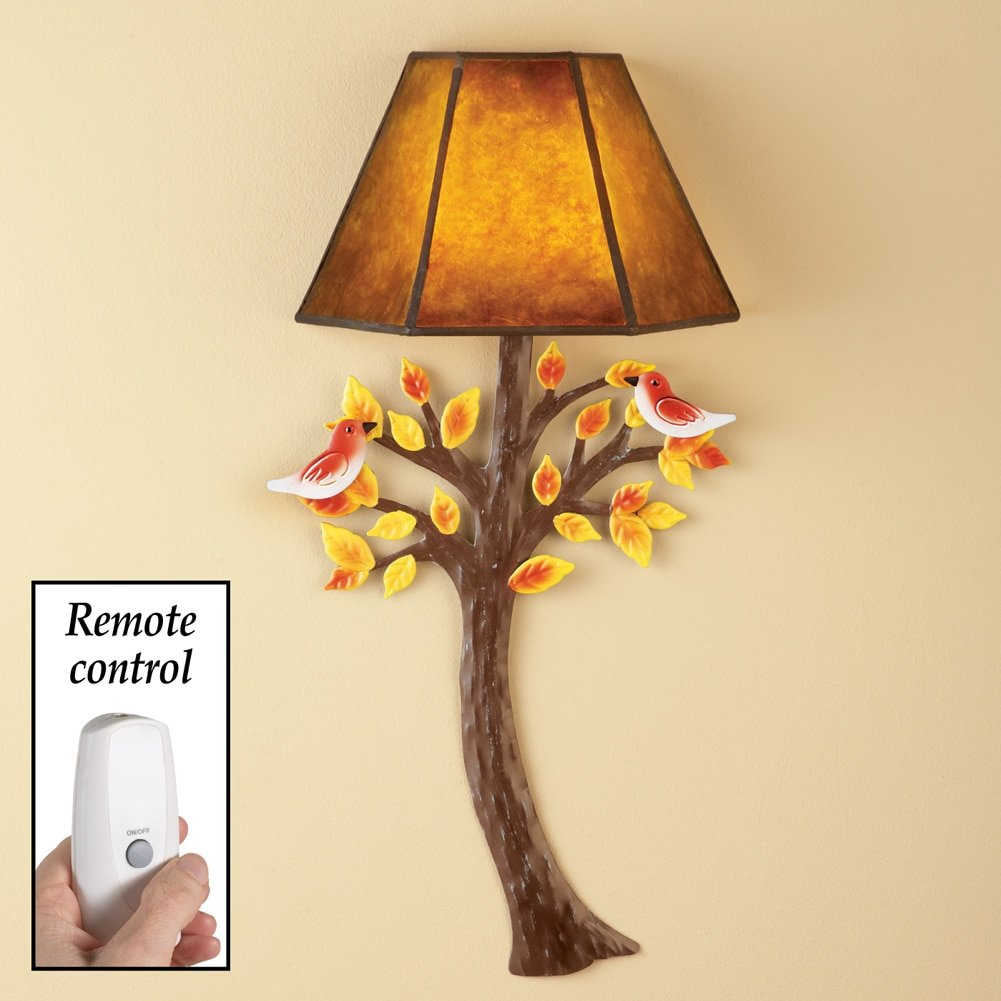 Amazon.com: Fall Leaves Wall Lamp, Colors: Kitchen & Dining