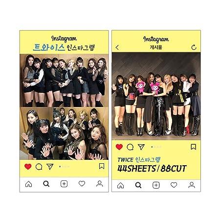 Amazon com : K-POP Group 2019 New Instagram Photo Card set