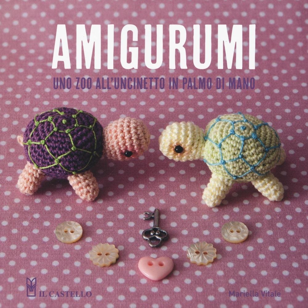 Amigurumi Natale Semplici.Amazon It Amigurumi Uno Zoo All Uncinetto In Palmo Di Mano