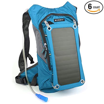 ECEEN Solar Hydration Backpack 7 Watts Solar Phone Charger with 2 Liters  Bladder for Smart Phone 886f133d48367