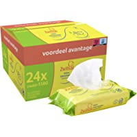 Zwitsal Lotion Billendoekjes voor milde reiniging van de babyhuid - 24 x 65 stuks - Voordeelverpakking
