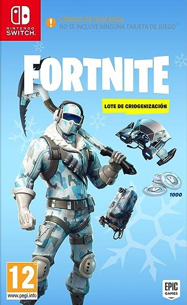 Fortnite: Lote de Criogenización + 1.000 paVos (Código Digital): Amazon.es: Videojuegos