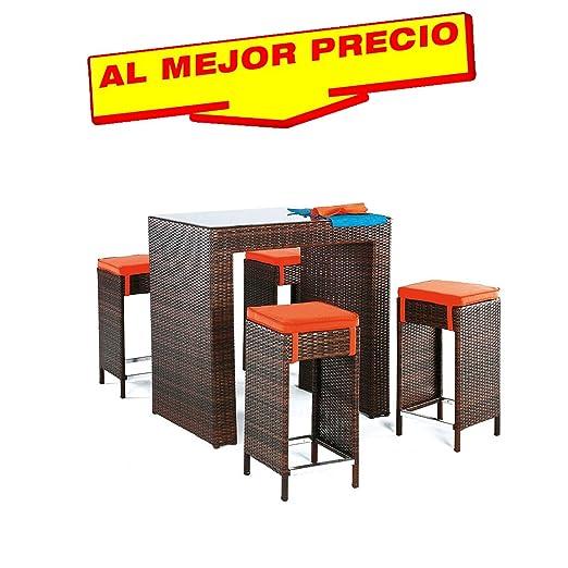 Prezzi Tavoli Da Esterno.Set Mobili Da Esterno Set 4 Sgabelli Con Cuscini Una Tavolo