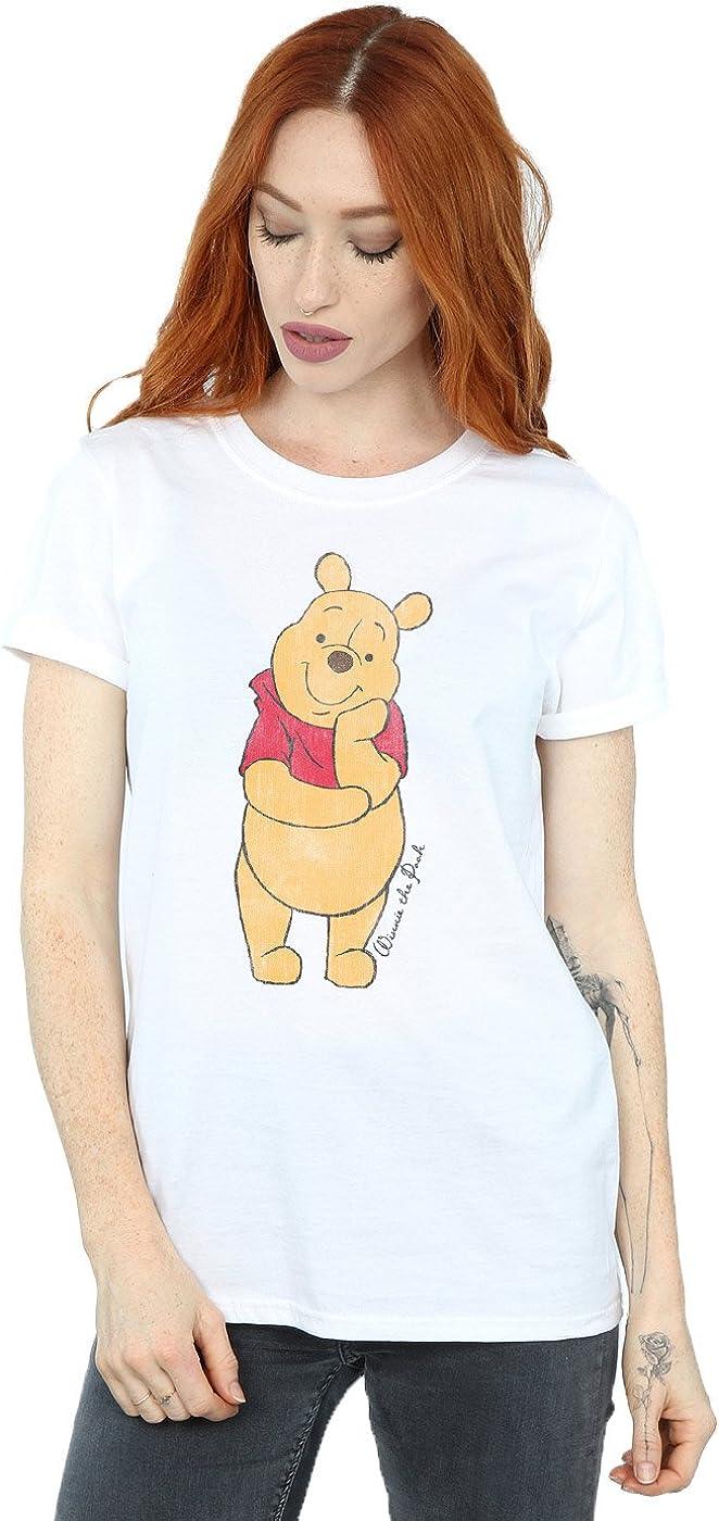 TALLA M. Disney mujer Winnie The Pooh Classic Pooh Camiseta Del Novio Fit