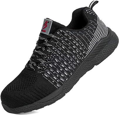 Belilent Safety Steel Toe Shoes Men