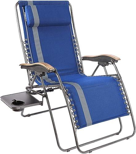 PORTAL Padded Zero Gravity Lounge Chair