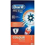 Oral-B PRO 600 CrossAction - Cepillo de dientes eléctrico con tecnología Braun