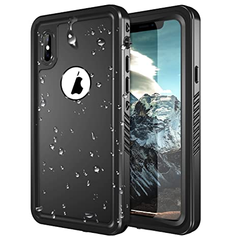 outlet store 4ce14 909b0 iPhone X Waterproof Case, SNOWFOX Shockproof Dirtproof Snowproof IP68  Certified Waterproof iPhone X Case with Built-in Screen Protector Full body  ...