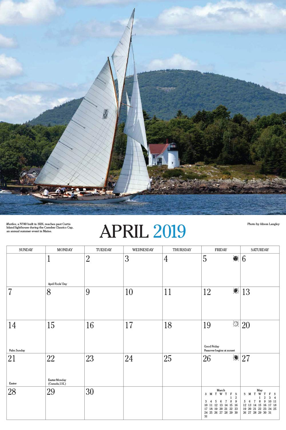 Cruising World 2019 Calendar: Cruising World Magazine: 9781631142314:  Amazon.com: Books