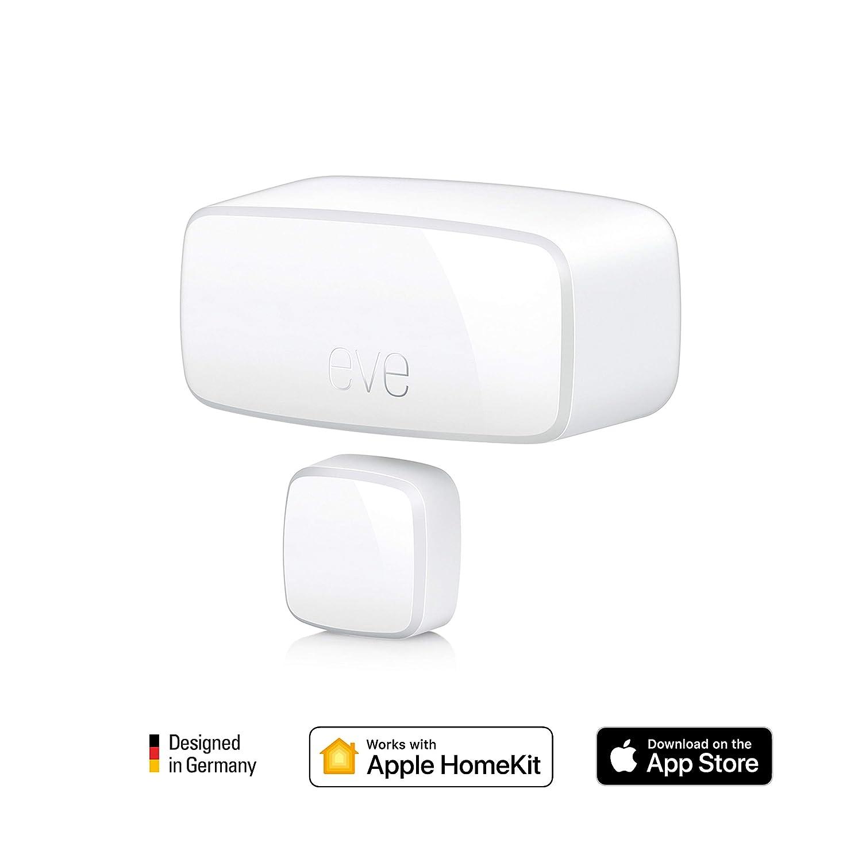 Eve Door & Window - Wireless contact sensor with Apple HomeKit technology,  Bluetooth Low Energy