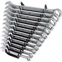 Silverline SP1236 Llaves combinadas, 12 pzas 8-19 mm