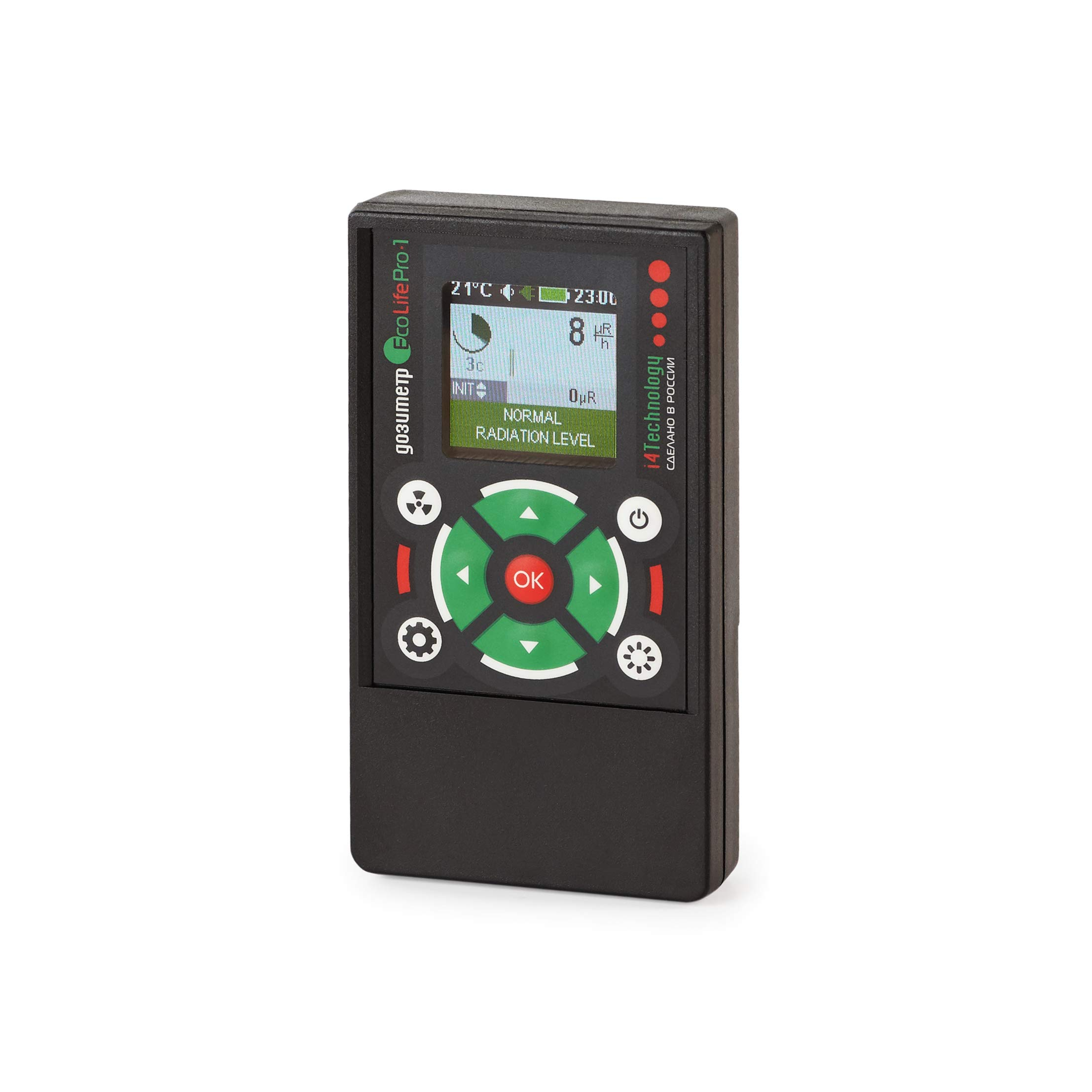 High Accuracy geiger Counter Radiation Detector dosimeter EcoLifePro 1 by i4 Technology (Image #2)