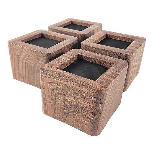 aspeike - Elevadores de Cama y Muebles (4 Paquetes de 7,6 cm ...