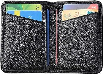 Wallet RFID Credit Card Holder Blocking Bifold Front Pocket Minimalist Wallets Slim ID/Credit Card