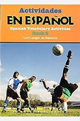 Actividades En Espanol Book 2, Spanish Vocabulary Activities Workbook