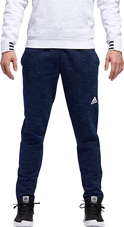 e8a16f3a4 Amazon.com: adidas Men's Post Game Fleece Tapered Pants: Clothing