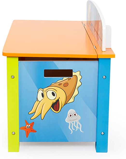 Ghorbani Caja para Juguetes Juguete Box – Caja Baúl Infantil Caja ...