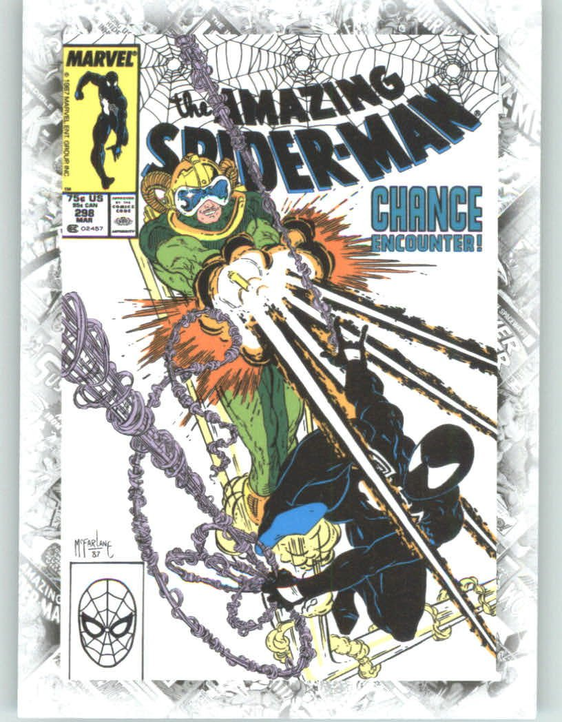 Marvel Beginnings Breakthrough Cover Issues #B64 The Amazing Spider-Man #298 (Non-Sport Comic Trading Cards)(Upper Deck - 2012 Series 2)