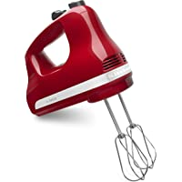 KitchenAid KHM512ER 5-Speed Ultra Power Hand Mixer (Empire Red)