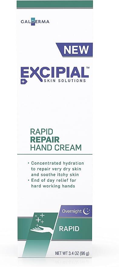 New Excipial Rapid Repair Hand Cream, 3.4 Ounce