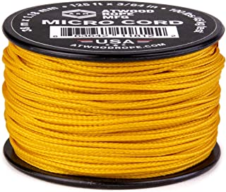 product image for Atwood Rope MFG Micro Utility Cord 1.18mm X 125ft Reusable Spool | Tactical Nylon/Polyester Fishing Gear, Jewlery Making, Camping Accessories