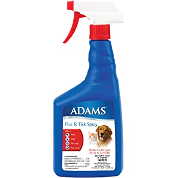 Amazon Com Adams Flea And Tick Spray For Cats And Dogs