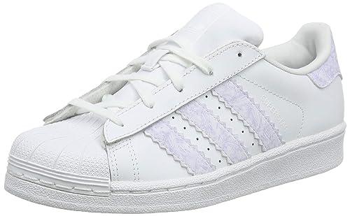 Adidas Superstar C, Zapatillas de Gimnasia Unisex para Niños