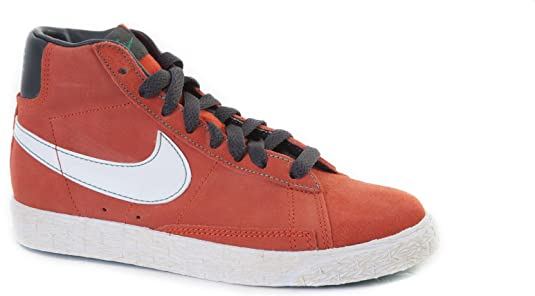 Nike Jungen Blazer Mid PRM VNTG QS Basketballschuhe, Schwarz