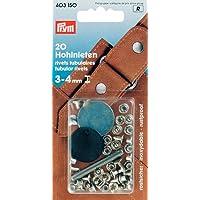 Prym 403150 Hohlnieten Klemmber. 3-4 mm MS silberfarbig