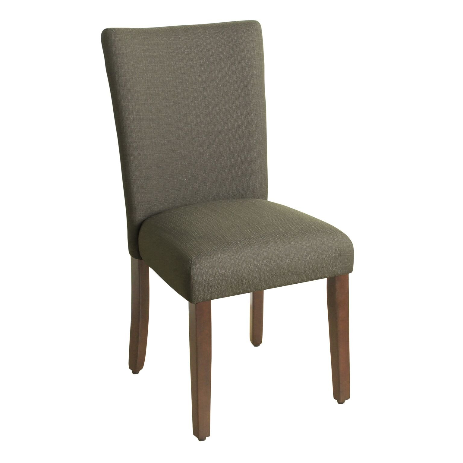 HomePop Parsons Classic Upholstered Accent Dining Chair, Single Pack, Brown