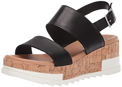 ead9a7799f Amazon.com | Steve Madden Women's Brenda Wedge Sandal | Platforms ...