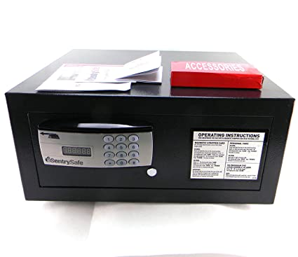 SentrySafe Residential/Hotel Security Safe with Swipe & Electronic Entry