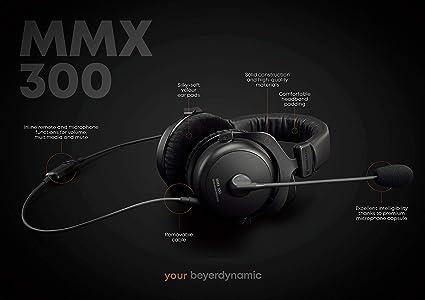 Beyerdynamic MMX 300 - Auriculares de gamimg con micrófono ...
