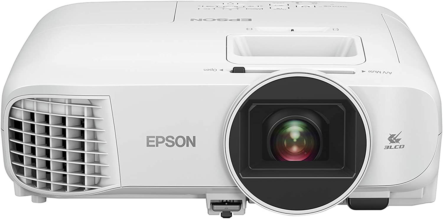 Epson Home Cinema 2200 1080p 3LCD Projector, White, Medium