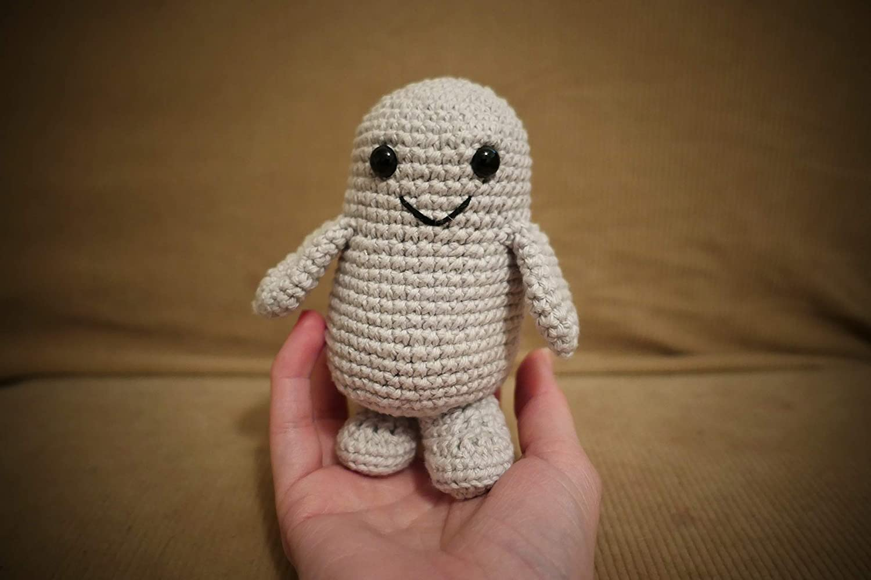 Blob Creature Crocheted Stuffed Toy