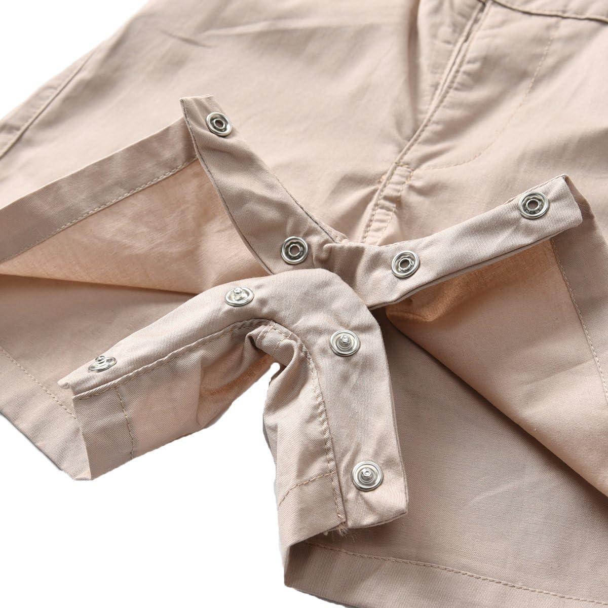 Kurze Hose mit Tr/äger Junge Bekleidungsset Kleinkinder Gentleman Anzug Baumwolle Set Babyanzug Echinodon Baby Hemdbody mit Fliege