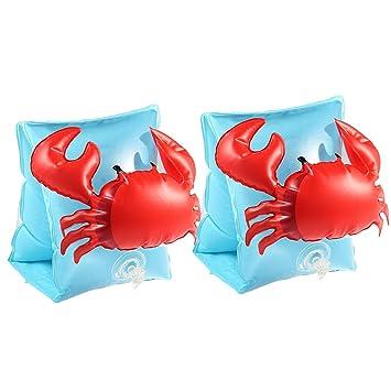 PAWACA natación brazo bandas inflable brazo bandas flotación ...