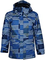COLUMBIA BIG BOYS arctic trip interchange 3 in 1 system jacket OMNI HEAT BLUE