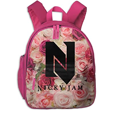 Cute Toddler Backpack Children's Nicky Jam Shoulder Bag Mini Travel Bag For Baby Girl Boy 1-6 Years Pink | Kids' Backpacks