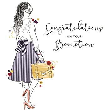 congratulations on your promotion card amazon co uk office products