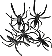 Fun Express Plastic Halloween Spiders Party Favor - 144 Pieces