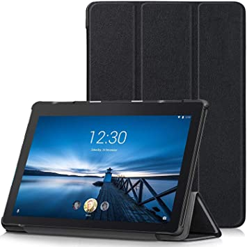 various colors a7393 cdef0 TTVie Case for Lenovo Tab E10, Ultra Slim Lightweight Smart Shell Stand  Cover for Lenovo Tab E10 10.1