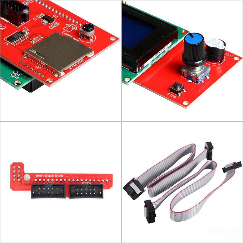 OSOYOO Kit de impresora 3d con rampas 1.4 Controlador + Mega 2560 ...
