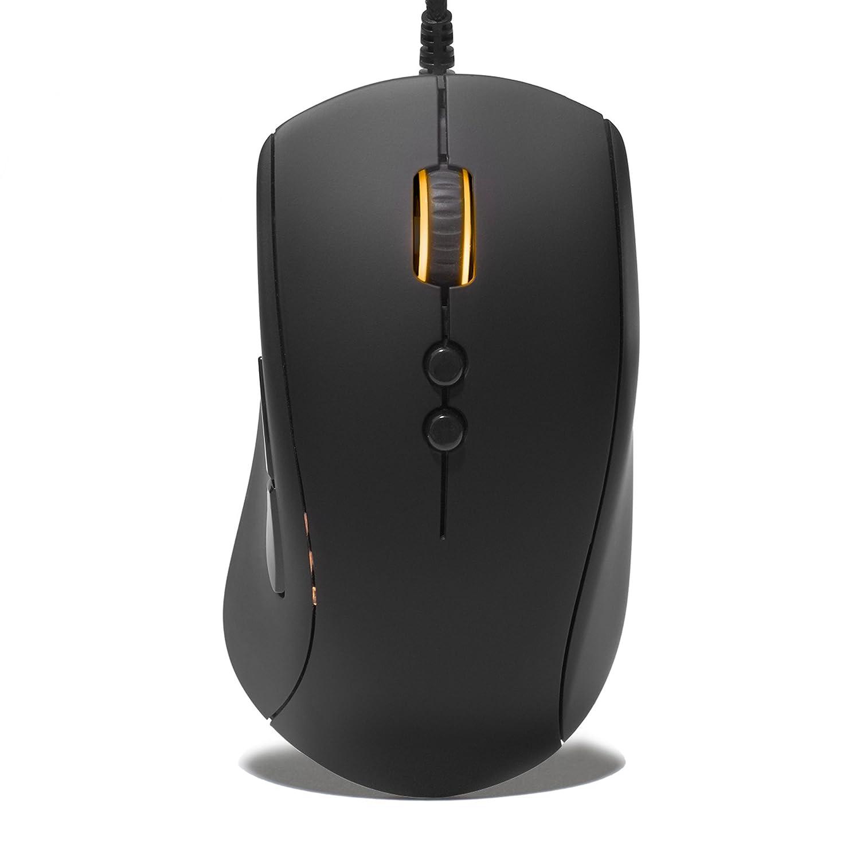 Fnatic Gear Clutch Optical Pro Gaming Mouse 7 Buttons, Ergonomic, Pixart Sensor , Black