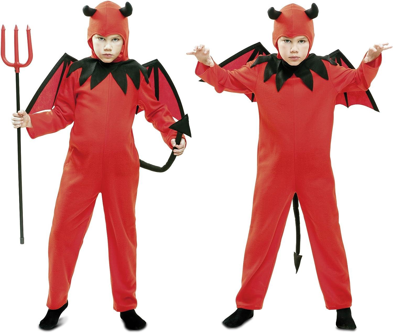My Other Me - Disfraz de diablo, para niños de 5-6 años, color ...