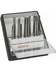 Bosch 2 607 010 540 - Juego de 10 hojas de sierra de calar Robust Line Wood Expert, vástago en T - - (pack de 1; 1; 1; 1; 1; 1; 1; 1; 1; 1)