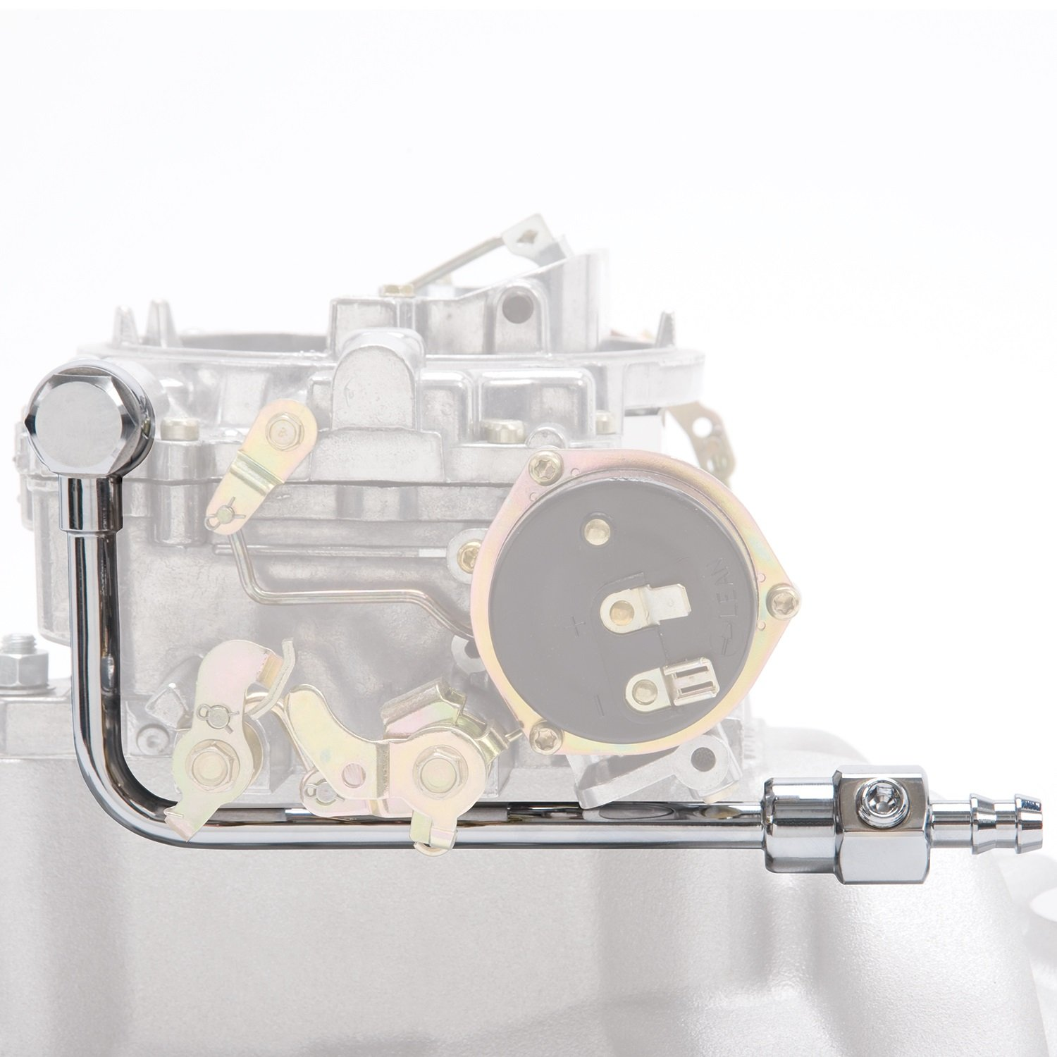 Edelbrock 8126 Chrome Fuel Line