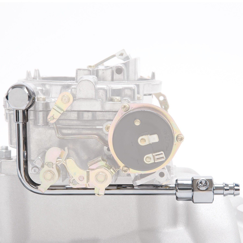 Edelbrock 8126 Chrome Fuel Line